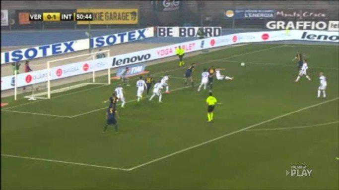 Match Verona-Inter März 2014