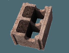 Blocco in legno cemento con sughero