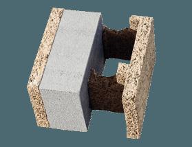 Blocco pass in legno cemento