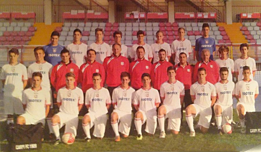 Sponsorship of Primavera Carpi Football Club, 2014-2015