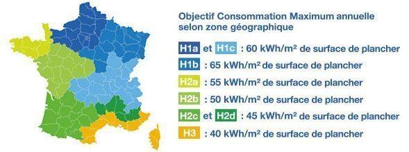 Blocs pour chaque exigence climatique materiaux rt 2012 - Zone climatique rt 2012 ...