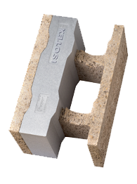 Mattoni in legno cemento con grafite
