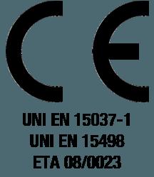 Certificazioni e marcatura CE di Isotex