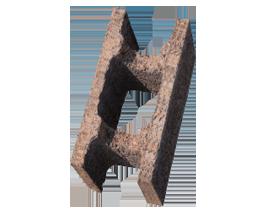 Blocco cassero in legno cemento