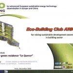 Migliore costruzione ecosostenibile, premio Isotex