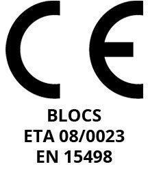 Certification CE européenne pour Isotex