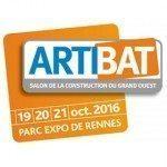 FIERA Artibat<br> Parc Expo Des Rennes | Francia<br>19-21 Ottobre 2016<br>PAD 4 - Stand B51