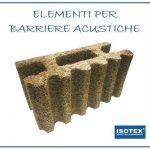 Elementi ISOTEX per barriere fonoassorbenti in legno cemento: come vincere l'inquinamento acustico!