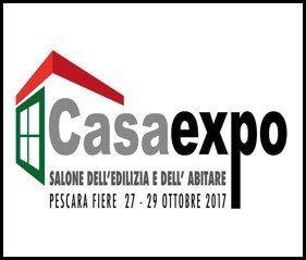 CasaExpo Pescara<br>22-25 Settembre 2017<br>Padiglione 1<br>Stand 54-55